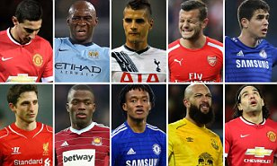 Top ten `flops' in premier league who need to pull up socks